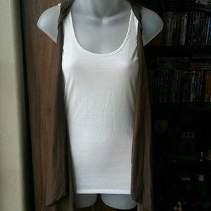 Derek Heart tank with attached vest